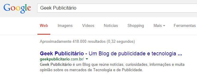 pesquisa geek publicitario google